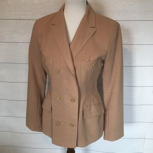 Jil Sander Double Breasted Blazer 2014 Coll!